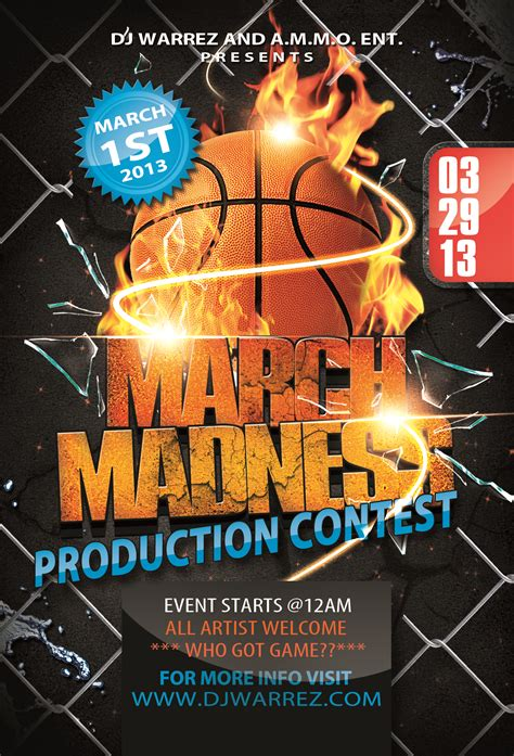 thumbnail_copy of march madness flyer template