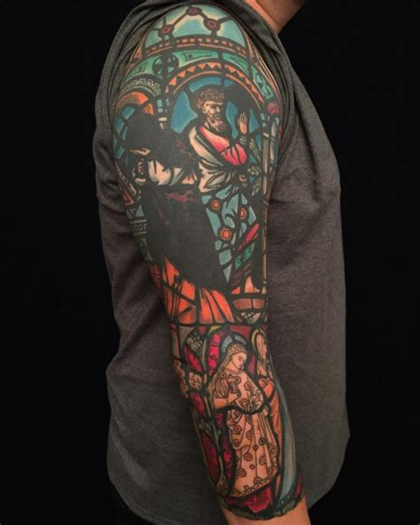 stain glass tattoo 75 dazzling stained glass ideas nothing less than