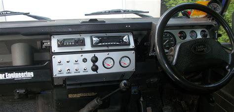 land rover defender dashboard landrover defender dash console by raptor engineering