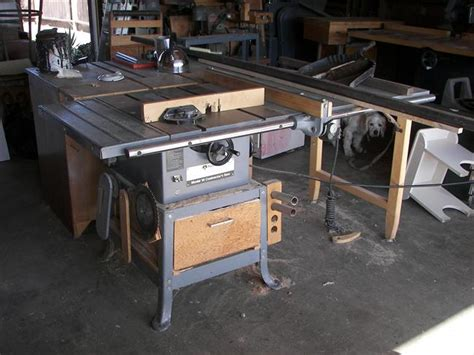 Rockwell Model 10 Table Saw Table Design Ideas