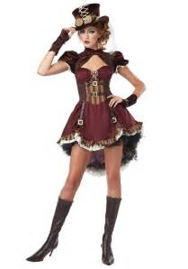 city costumes for halloween steampunk lady costume