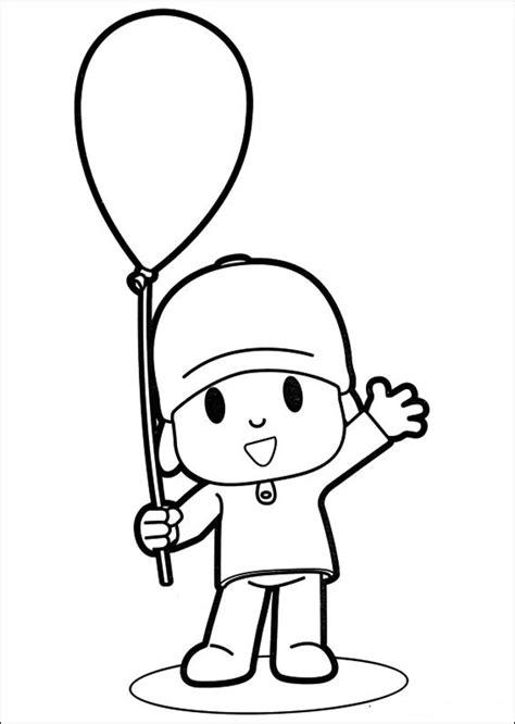 dibujos para colorear pocoyo pocoyo friends coloring pages