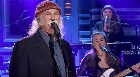 david crosby new song david crosby crashes late night tv with a brand new song