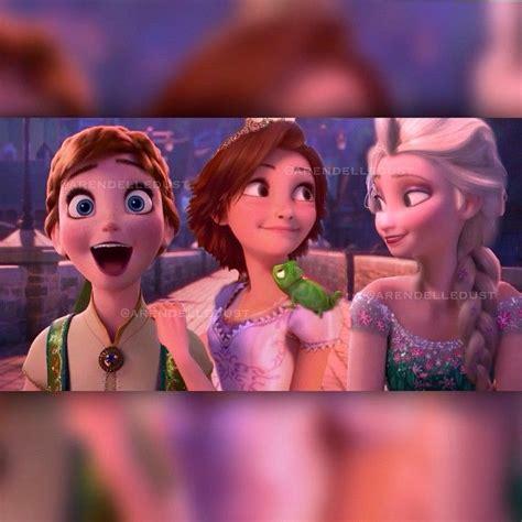 rapunzel kidnapped can frozen elsa anna save tangled anna elsa and rapunzel in frozen on pinterest