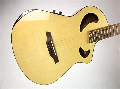 Handmade Acoustic Guitars Usa - veillette grand 16 usa waterfall bubinga custom acoustic