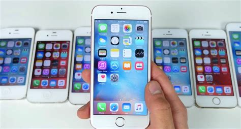 ios 9 3 vs ios 9 2 1 speed test on iphone 4s 5 5s 6 6s iphone in canada