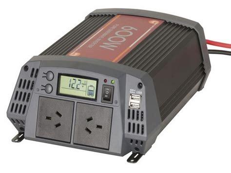 Greentek Power Inverter 600 Watt Charger 600 Watt powertech inverter psw 12v 600w mi5720 allvolts power solutions pty ltd