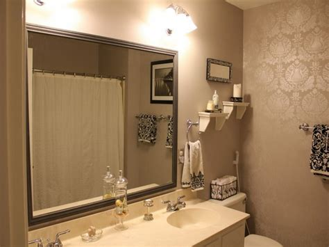 Small Bathroom Mirror Bathroom Bliss By Rotator Rod Small Bathroom Mirror