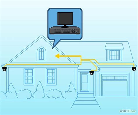 how to install a security system for a house