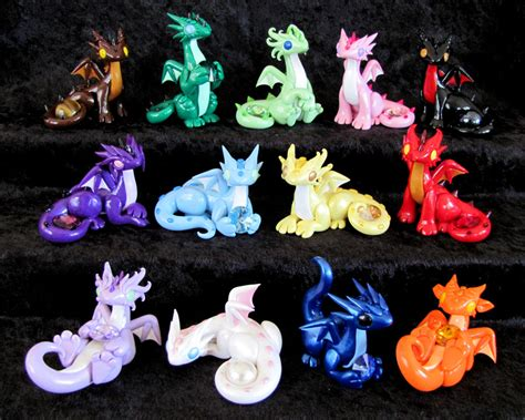 updated gem dragons by dragonsandbeasties on deviantart