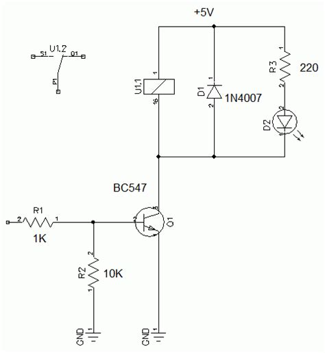 load resistor multisim circuit to trigger on pulse and let current pass for x seconds