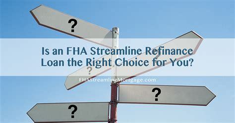 steps to buying a house with fha loan is an fha streamline refinance loan the right choice for you fhastreamlinemortgage com