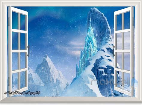 Frozen Wall Decor by Disney Frozen Elsa Snowflake Castle Palace Wall Decals