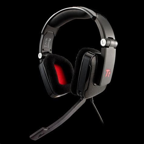 Headset Bagan thermaltake shock black stereo headset 3 5mm clickbd