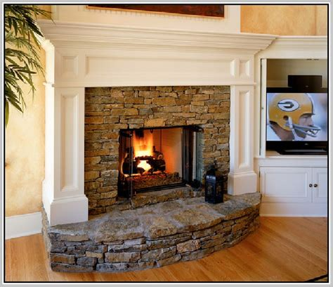 real fireplaces home design ideas