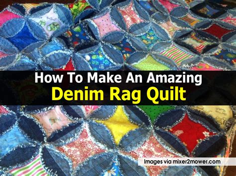 Materials Needed To Make A Quilt by How To Make An Amazing Denim Rag Quilt