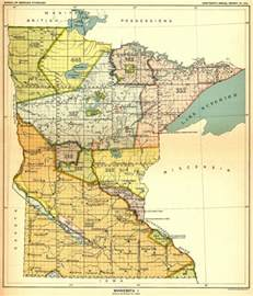 Map Of Minnesota Indian Land Cessions In The U S Minnesota 1 Map 33