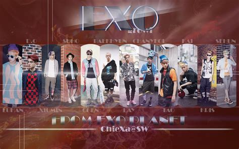 wallpaper exo growl exo wallpaper hd growl