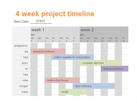 Powerpoint Template Calendar Images Powerpoint Template And Layout Presentation Schedule Template