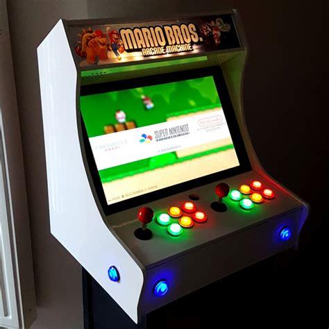 arcade bar top bartop arcade 2 joueurs wikifab