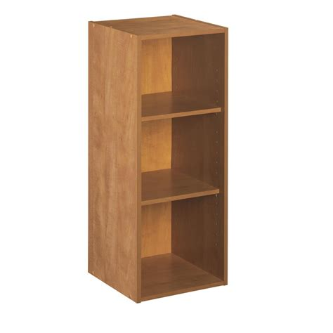 closet shelves lowes shop closetmaid 12 in alder laminate stacking storage at lowes
