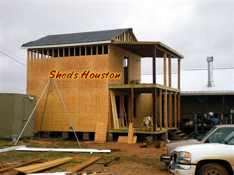 how to build a two story dog house sheds fences decks sheds 187 2 story office building 187 two story with balcony and