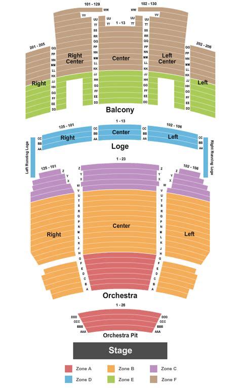 kingsbury seating chart concert venues in salt lake city ut concertfix