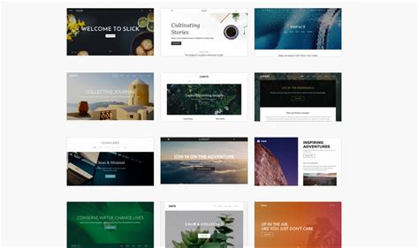 free website templates build a beautiful site or store