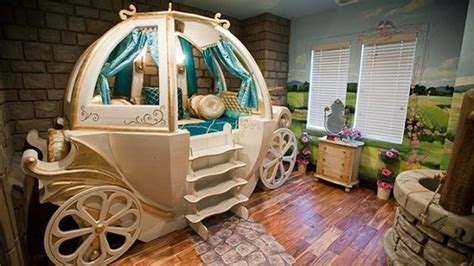 Cinderella Carriage Bed by Dreamy Cinderella Carriage Bed White And Gold Color In