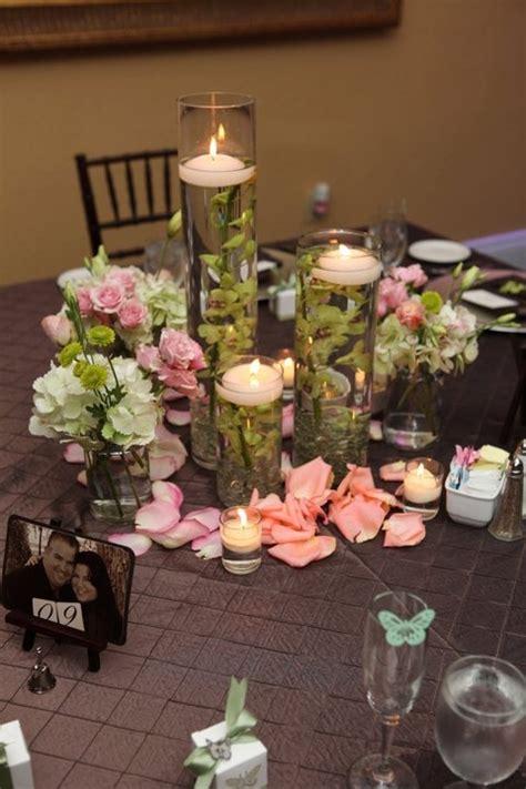 Cylinder Vase Centerpiece Cylinder Centerpieces Wedding Pinterest Cylinder