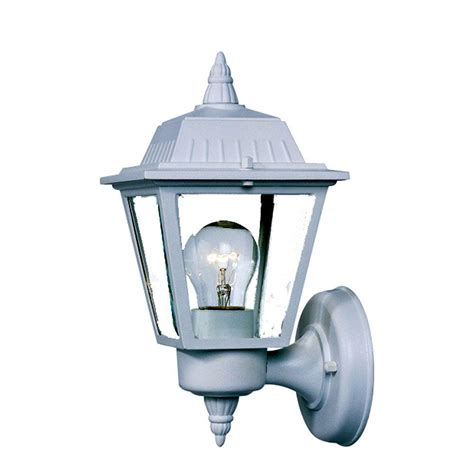 Acclaim Lighting Builder S Choice Collection 1 Light White Outdoor Light Fixtures