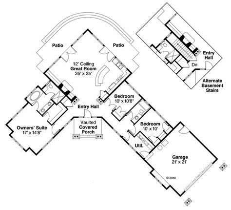 1400 Square Foot House Plans by House Plan 60906 At Familyhomeplans Com