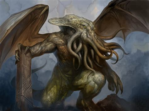A Place Creature Cthulhu By Douzen On Deviantart
