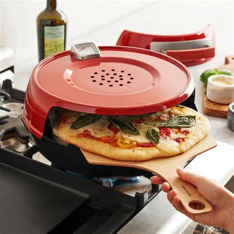 Four A Pizza Maison 2093 by Pizzacraft Pizzeria Pronto Stovetop Pizza Oven The