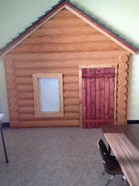 Log Cabin Boards by Log Cabin Magnetic White Board And Window
