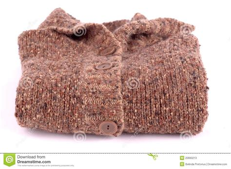how to knit neatly knitted brown jersey folded stock photos image 20660213