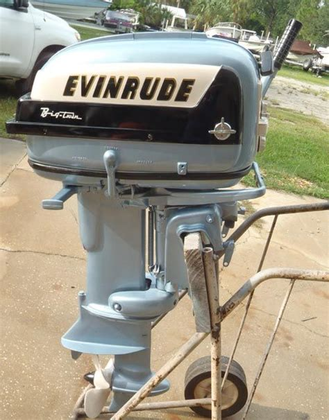 outboard motor boats for sale image detail for 1957 35 hp evinrude outboard antique