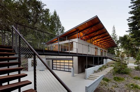 mountain works home design sonoma mountain house by nielsen schuh architects 22