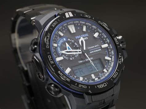 G Shock Protrek Prw 6000 Blue casio sapphire protrek prw 6000yt 1bjf
