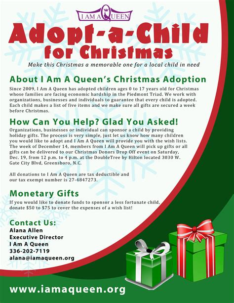sponsor a child for christmas gift help i am a bless a child for mykel media company