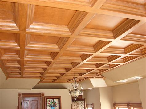 Wood Drop Ceiling Woodgrid 174 Coffered Ceilings By Midwestern Wood Products Co