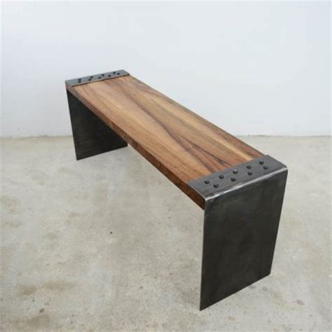 benching 2 plates iron industrial bench creative iron