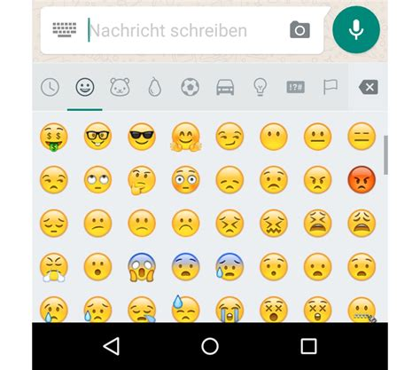 android new emojis whatsapp f 252 r android bekommt neue emojis