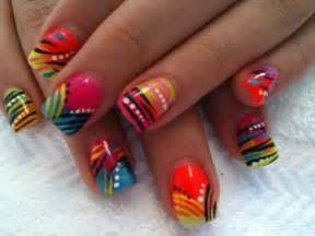 colorful nail designs 25 cool colorful nail ideas style motivation