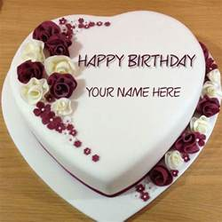 happy birthday cake with name edit hairstylegalleries com