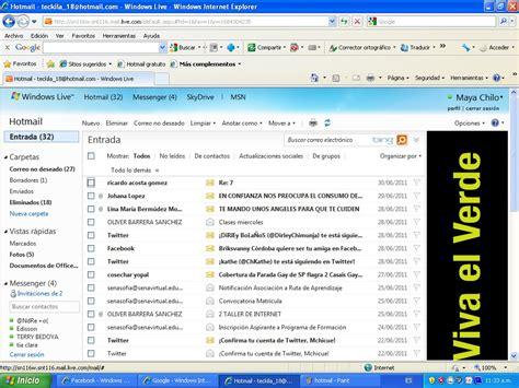 bandeja de hotmail entrada bandeja de entrada hotmail seonegativo