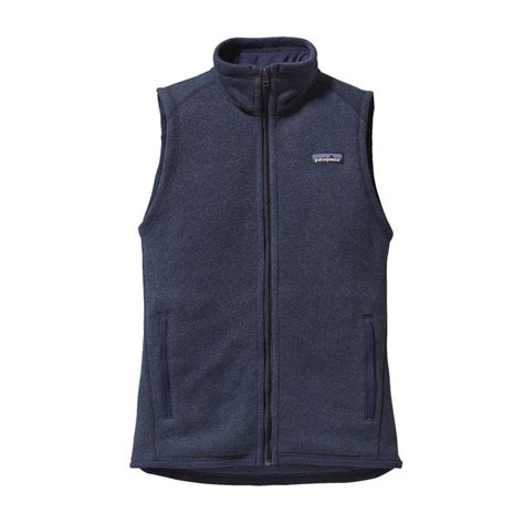womens knit vest patagonia s better sweater 174 fleece vest