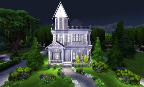 make a house the sims 4 build tutorial victorian house with interior
