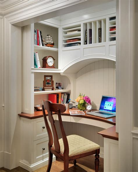 desk built into closet colonial revival 183 more info