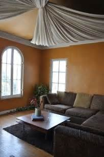 1000 ideas about fabric ceiling on unfinished